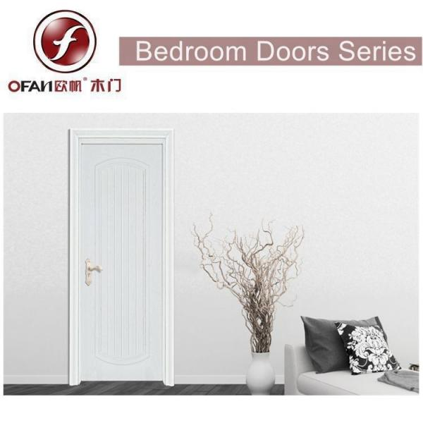 High End Home Interior Door Design Mdfsolid Wooden Bedroom Door