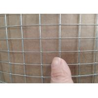Hot - Dipped Galvanized Welded Wire Mesh For Animal Cage Structuring