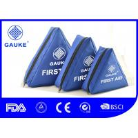 China 1 - 3 Mopeds Motorcycle First Aid Kit , Motorcycle Emergency Kit Custom Content on sale