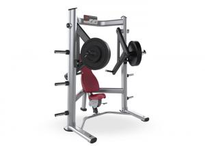China Decline Plate Loaded Chest Press Machine Professional High Performance Ball Bearing on sale