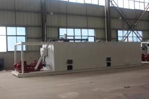 China TBM slurry separation system mud/slurry tank for sale at Aipu solids control on sale