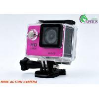 1080P HDMI 4k Helmet Mounted Camera, N9 Water Resistant Action Digital Camera 900mAh