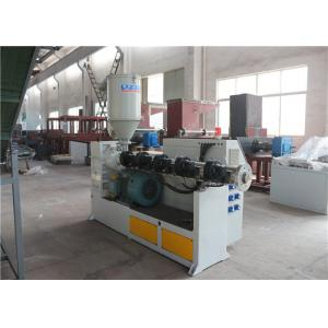 China Polyethylene / PE Pipe Extrusion Line Single Screw Extruder  Diameter Range 20 - 630mm on sale