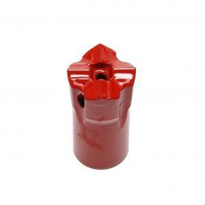 China Carbide 12 Degree Industrial Drill Bits , Cross Core Drill Bit 32mm Diameter on sale