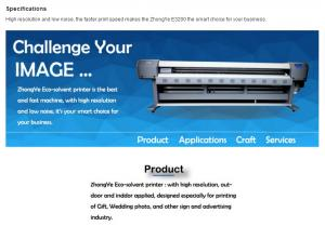 China eco solvent printer better than infinity on sale