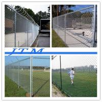 China [China factory]4x4 fence posts metal fence, used chain link fence for cheap sales on sale