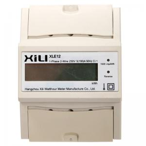 China Electric multirate DIN RAIL KWH meter , Smart watt hour meter 5A / 10A on sale