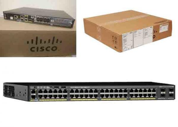 Layer 3 Cisco Catalyst 2960 48 Port Switch Product Photos