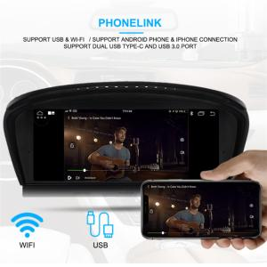 China Android 7.1 Car Navigation Player car DVD player Car Audio for BMW 3 Series E90 E60 2009-2011 With CIC System 32GB auto on sale