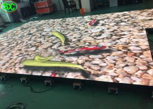 China P6.25 interactive DJ disco LED dance floor panels wedding rental on sale