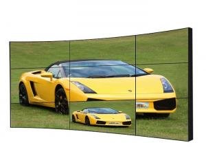 China 10mm Bezel Curved LCD Video Wall 65 Inch Energy Saving Viewing Angle For Stadiums on sale
