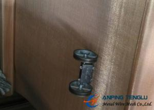 China Phosphor Bronze Woven Wire Mesh, 0.03%-0.35% phosphor, 5%-8% tin, other is copper on sale