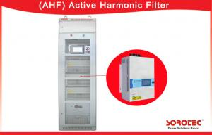 China 400V 50 / 60Hz APF Active Harmonic Filter 3P3L , 3P4L Power Grid Structure on sale