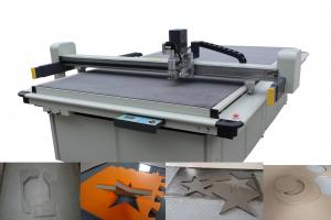 China Low Layer Gasket Cutting Machines Liner Guide Driving System With Conveyor Belt on sale