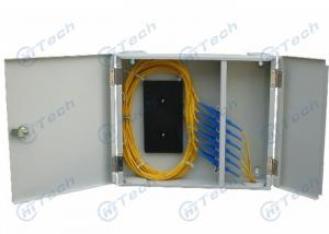 China SC Type Optical Fiber Distribution Frame Cold Rolling Steel Material With 12-24 Adaptors on sale