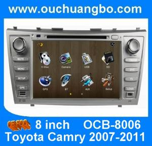 China Wince 6.0 car Stereo Sat Nav for Toyota Camry 2007-2011 with auto radio gps double din DVD Player OCB-8006 on sale