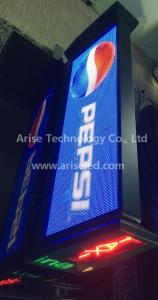 China Taxi LED banner signs P6 Taxi LED banner signs/ TAXI LED Display P4/P5/P6 on sale