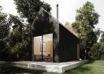 Kit Form Steel Frame Prefab Modular Homes Prefab Loft House PVC Ceiling Panel