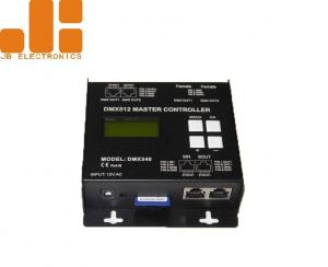 China Off - Line Remote Control Dimmer , DMX512 Master Controller With SD Card Storage on sale