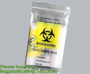 China Biological Hazard Bags - First Aid & Safety Supplies,MEDICAL WASTE BAGS, BIOHAZARD BAGS, BIO-HAZARD BAGS,bagplastics bag on sale