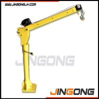Popular electric&manual mini lifting crane 500kg for truck with CE certificate