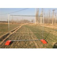 China Australia Galvanized Temporary Mesh Fence Size 2400mm W * 2100mm H on sale