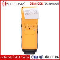 4G LTE Android Mobile Data Terminal PDA Printer/Fingerprint Reader/Portable Printer with Honeywell 2D Barcode Scanner