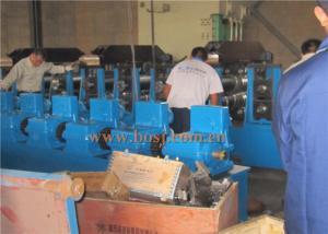 China Slurry Storage Tanks Plate Rolling Machine 8-15m/min 1.75-7.0mm 3 Roll Stations on sale
