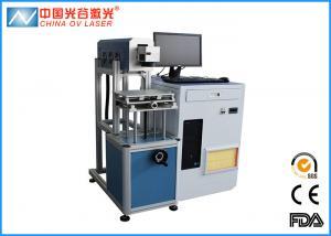 China 20W Fiber Laser CO2 Engraving Machine Ear Tags Plastic Mini Portable on sale
