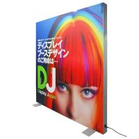 China Advertising Large Size LED Frameless Fabric Light Box Fully Waterproof on sale