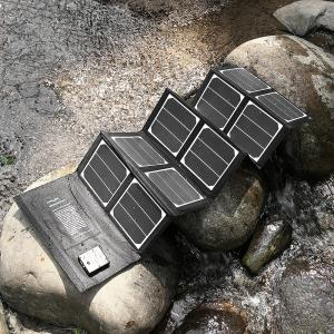 China Compact Slim USB solar powered charger 40W for Samsung Galaxy Phone on sale