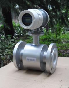 China DN100 Magnetic Water Flow Meter Sensor on sale