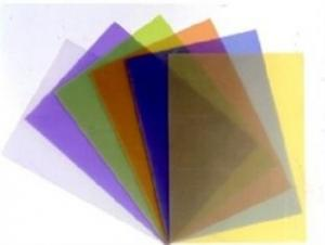 China OEM Non-toxic heat-resistan MATT PVC Frosted Binding Covers With Size A3 / A4 on sale