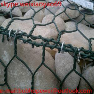 China heavy galvanized gabion boxes/gabion basket sizes on sale