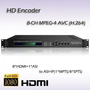 China REH2208 Digital TV Video Processor Encoder HDMI TO IP MPEG-4 AVC/H.264 HD Encoder I(HDCP support) or HD-SDI on sale