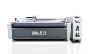 China China Leather Clothing Cloth Cutting Machine on sale