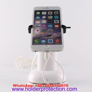 China COMER clip alarm locking security clamp mobile phone shop retail display stand on sale