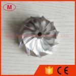 TD04H 15T 41.93/55.69mm roue de compresseur de billette de Turbo de représentation de 11+0 lames 49189-43500
