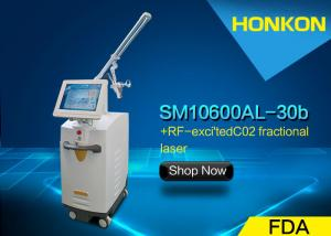 China 10600nm CO2 Fractional Laser Surgical Scars Age Spot Removal Machine on sale