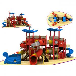 China CREEZ CUSTOMIZED DESIGN FUNNY KIDS USED AMUSEMENT PARK OUTDOOR PLAYGROUND EQUIPMENT FOR SALE on sale