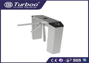 China Automatic Tri - Channel Playground Security Turnstile Gate With Card Reader on sale