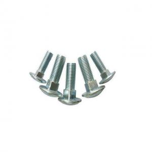 China Industrial Blue Round Head Carriage Bolt , Countersunk Square Neck Bolt on sale