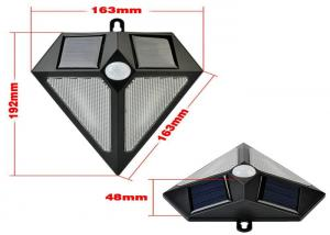 China Powerful 6 Led Motion Sensor Solar Lights Outdoor One Year Warranty on sale