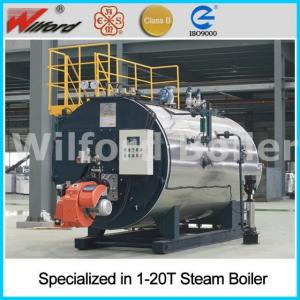 China oil steam boiler on sale