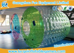 China Water Roller Inflatable Wheel Ball , Inflatable Hamster Wheel for Humans on sale