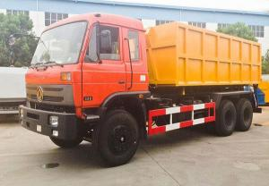 China 6x4 Garbage Compactor Truck 15 Ton - 20 Ton Roll Off Garbage Truck on sale