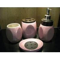 Under glazed color ensembles Ceramic Bath Accessories sets for shower fittings