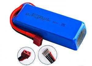China 4S Long Cycle Rc Car Lipo Batteries 14.8V 2200mAh 35C High Energy Density on sale