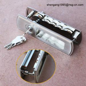 China Sliding Door Lock Handle Decorative Zinc Alloy Sliding Door Key Lock / Handle on sale