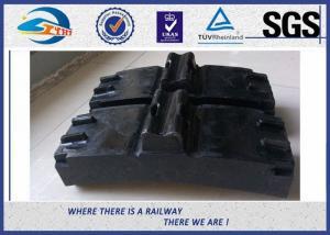 China Low Friction Train Wheel Composite Brake Block Cast Iron / Locomotive Brake Shoe on sale